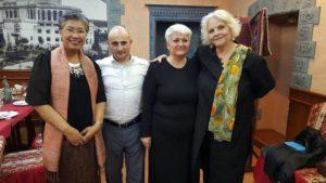 Training in Armenia with Lead International Trainer Mary Kemp-Clarke