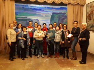 Training in Armenia, 2019