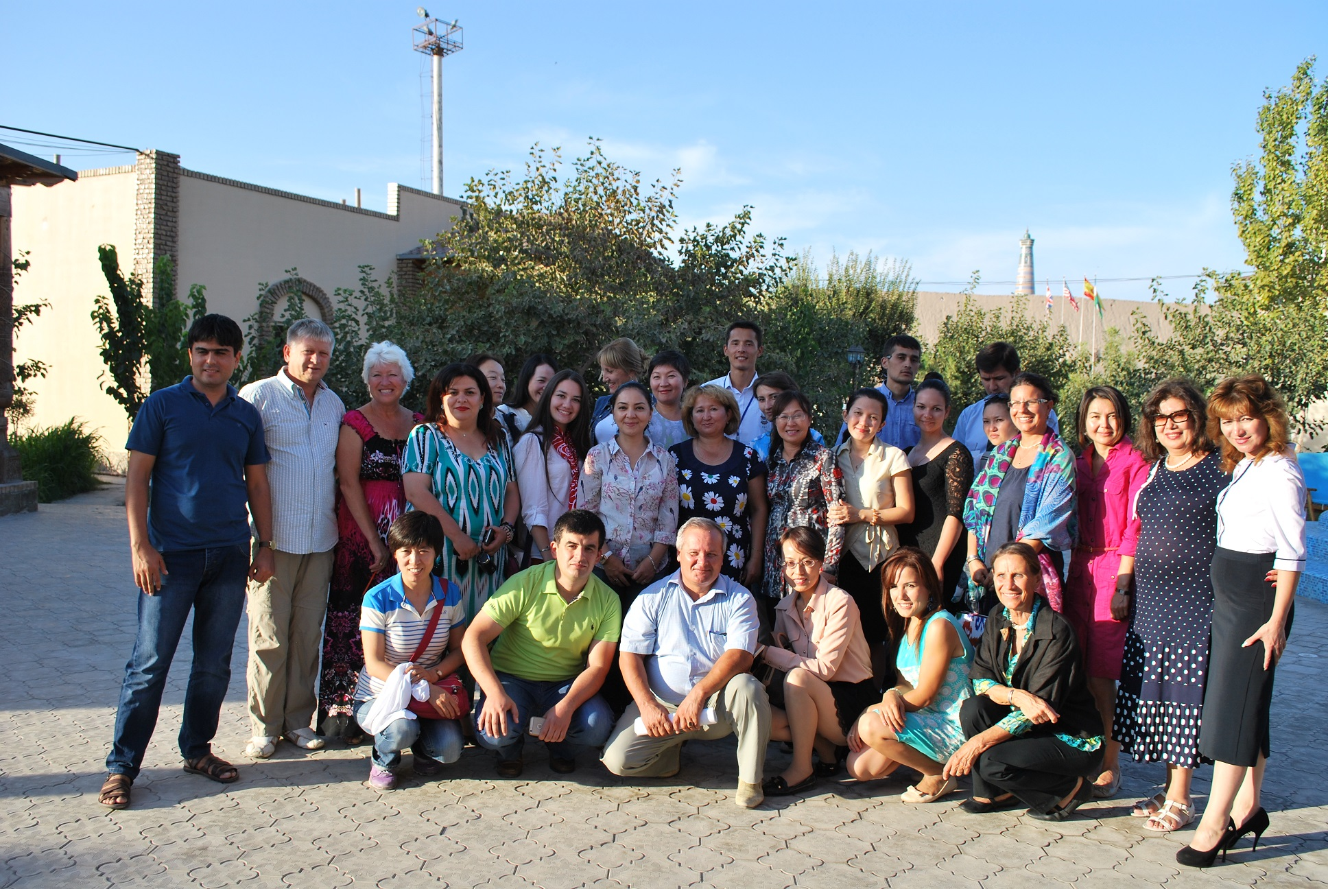 First WFTGA Training Courses for Silk Road Heritage Guides - Uzbekistan, 2915